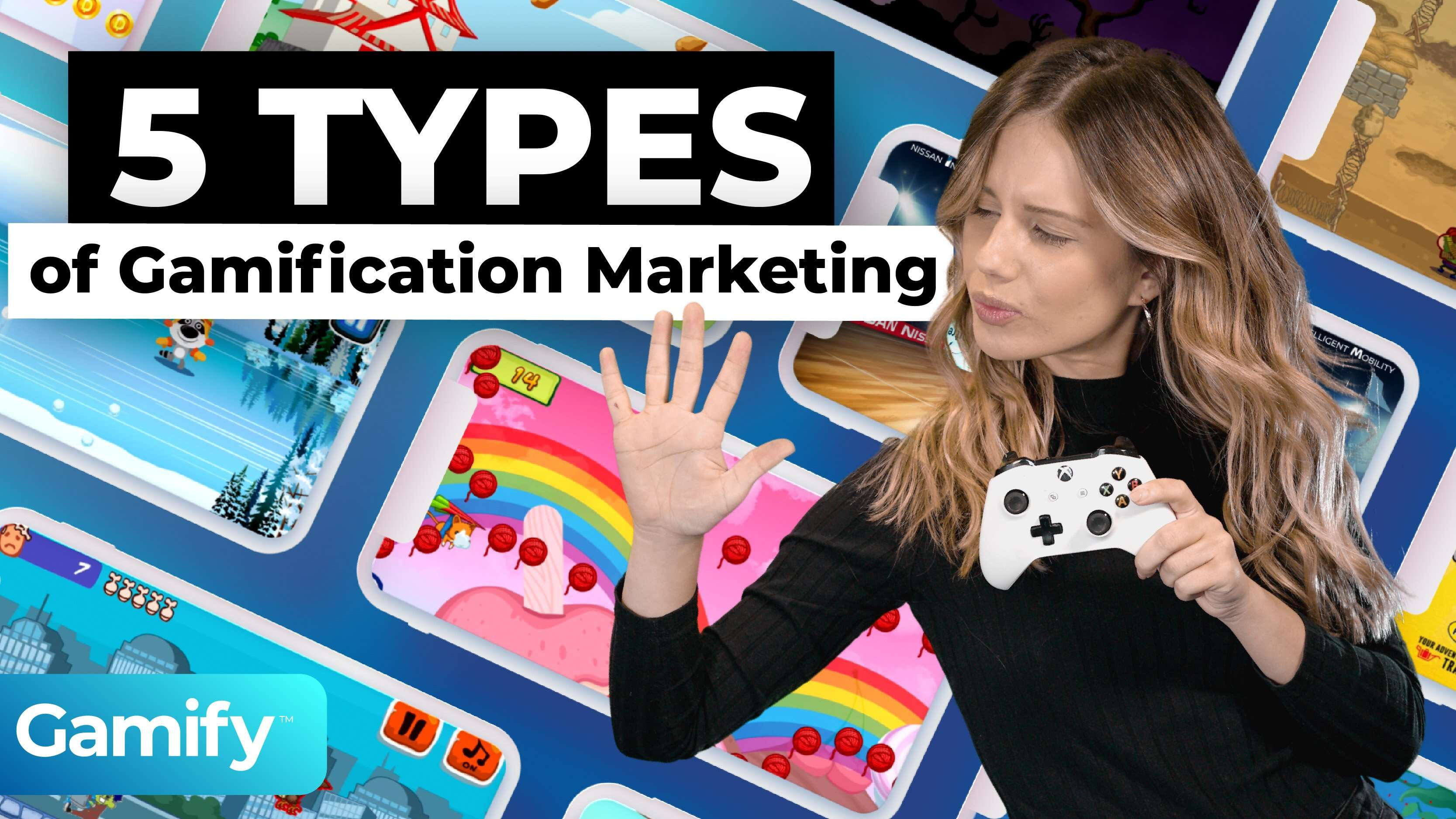 5 types of Gamification Marketing