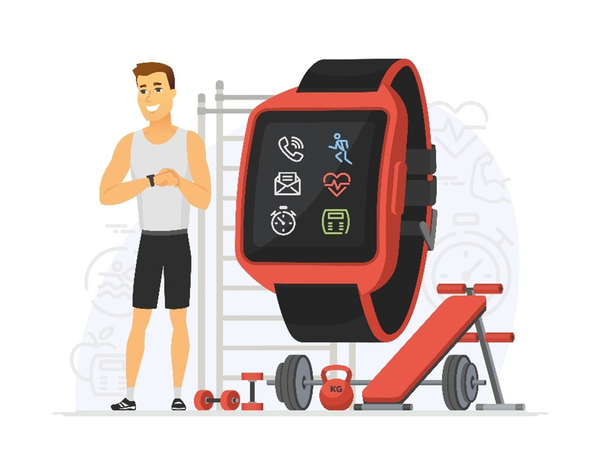 Gamified fitness tracker