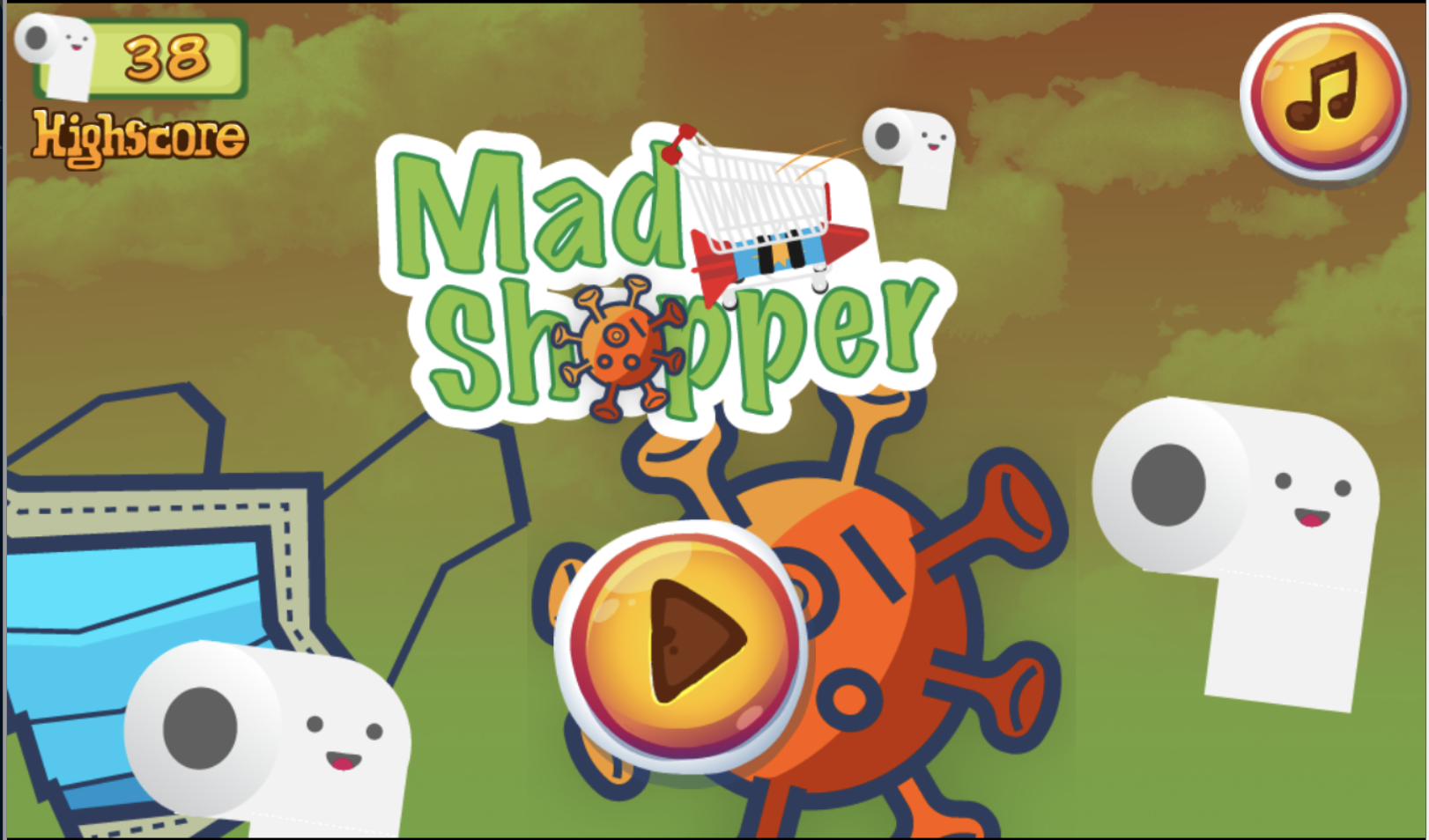 Mad Shopper title image