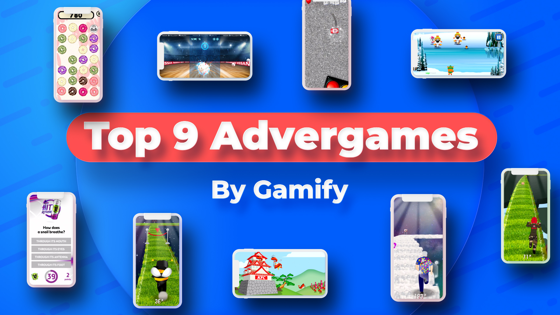 Top 9 Advergames by Gamify